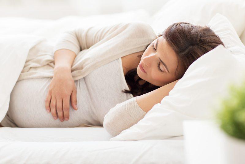 Symptôme de la femme enceinte pendant le 1er trimestre de grossesse