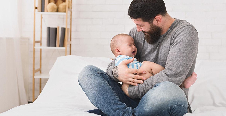 Calmer un bébé qui pleure