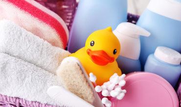 Les produits de toilette indispensables pour bébé