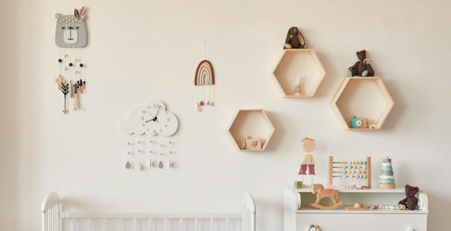 Décoration murale pour la chambre de bébé – idées déco  Autour de