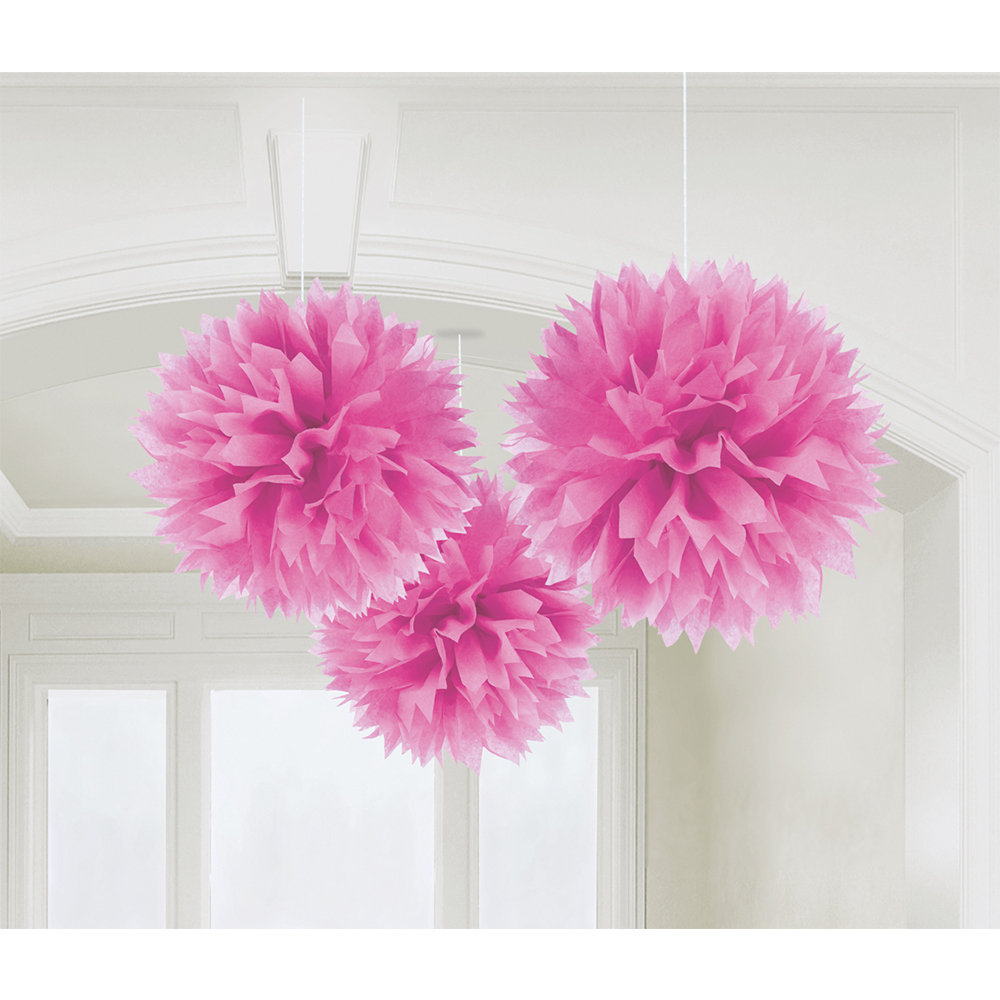 FLUFFY DECO PINK