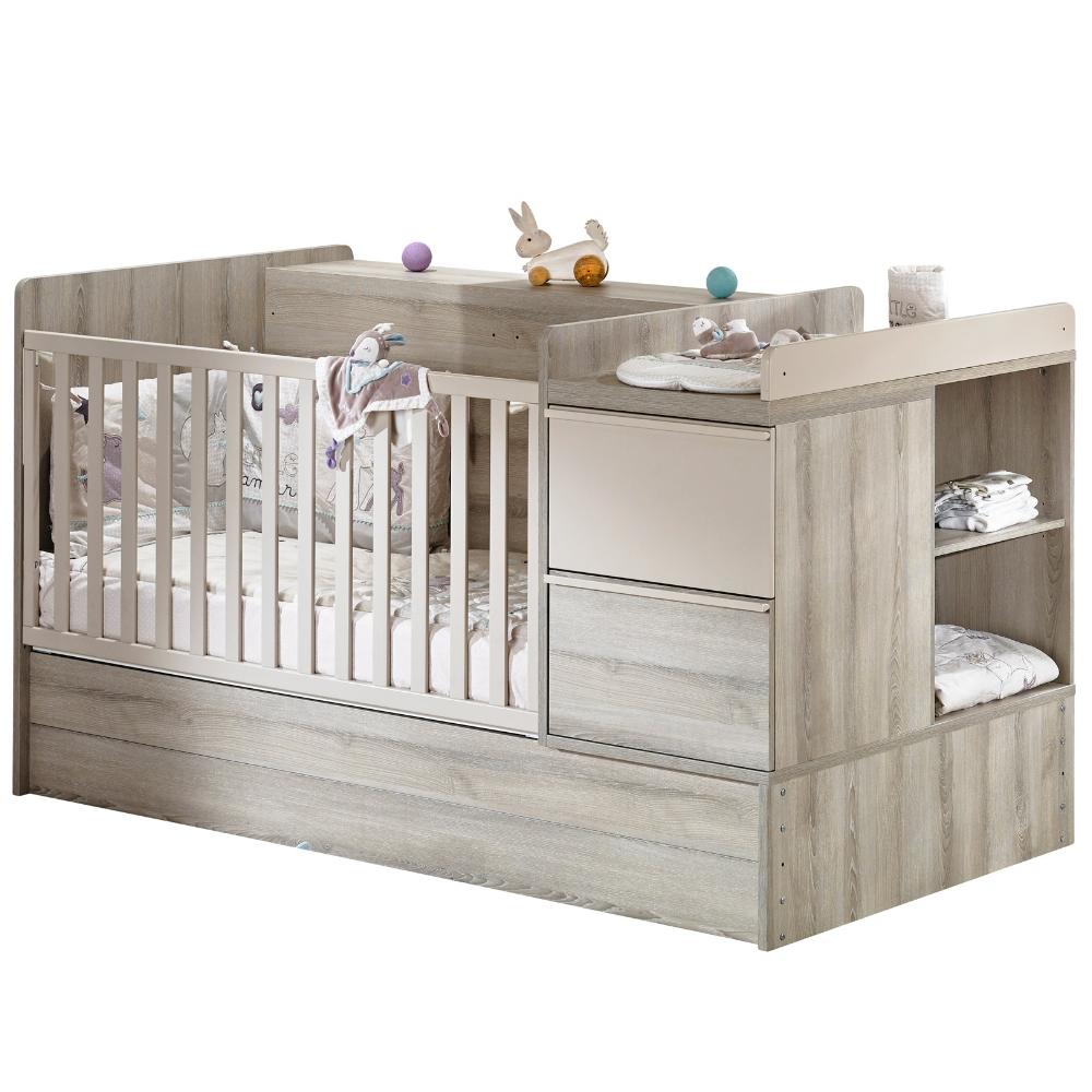 lit combin volutif xxl lit combin transformable de sauthon. Black Bedroom Furniture Sets. Home Design Ideas
