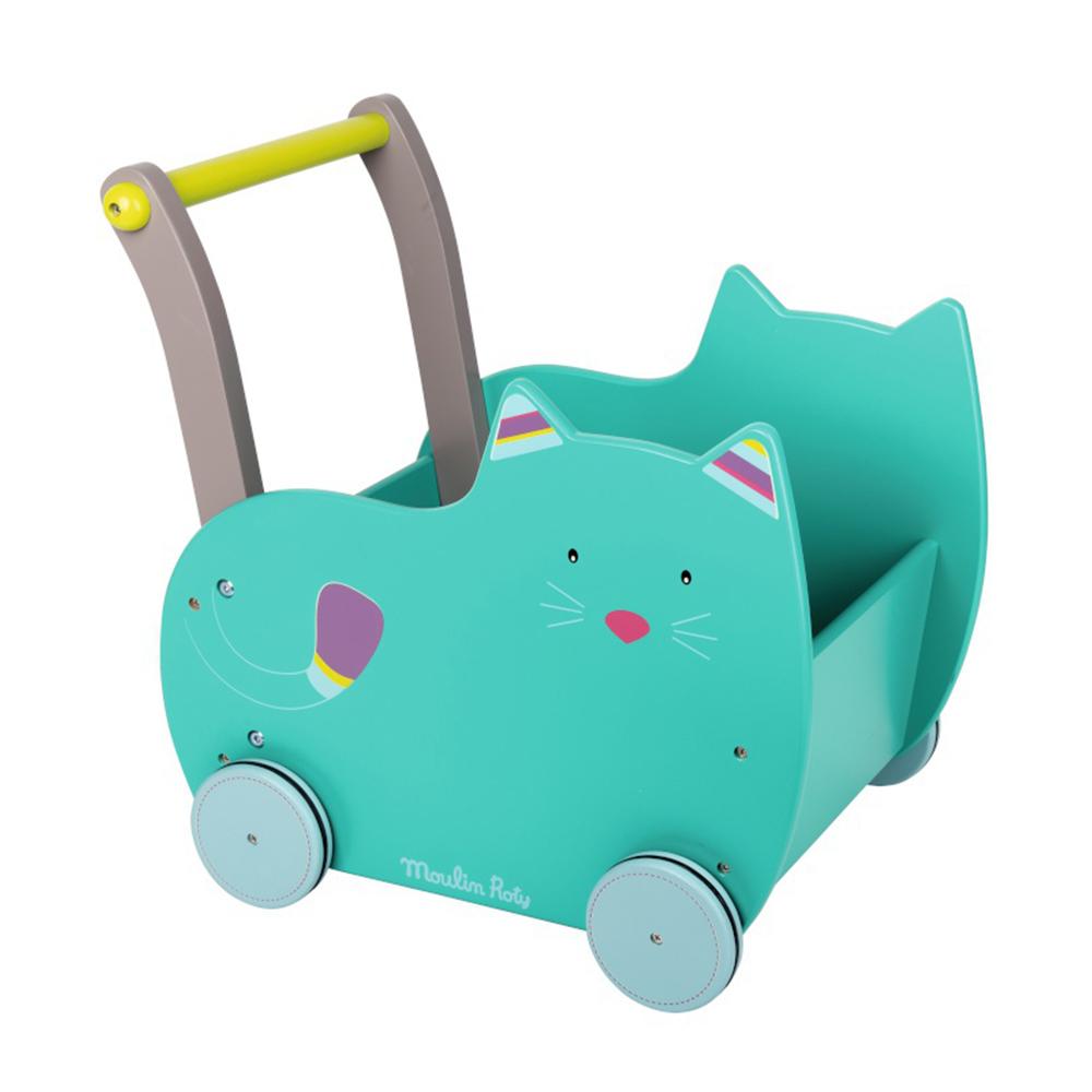 chariot de marche jeu et jouet b b de moulin roty. Black Bedroom Furniture Sets. Home Design Ideas