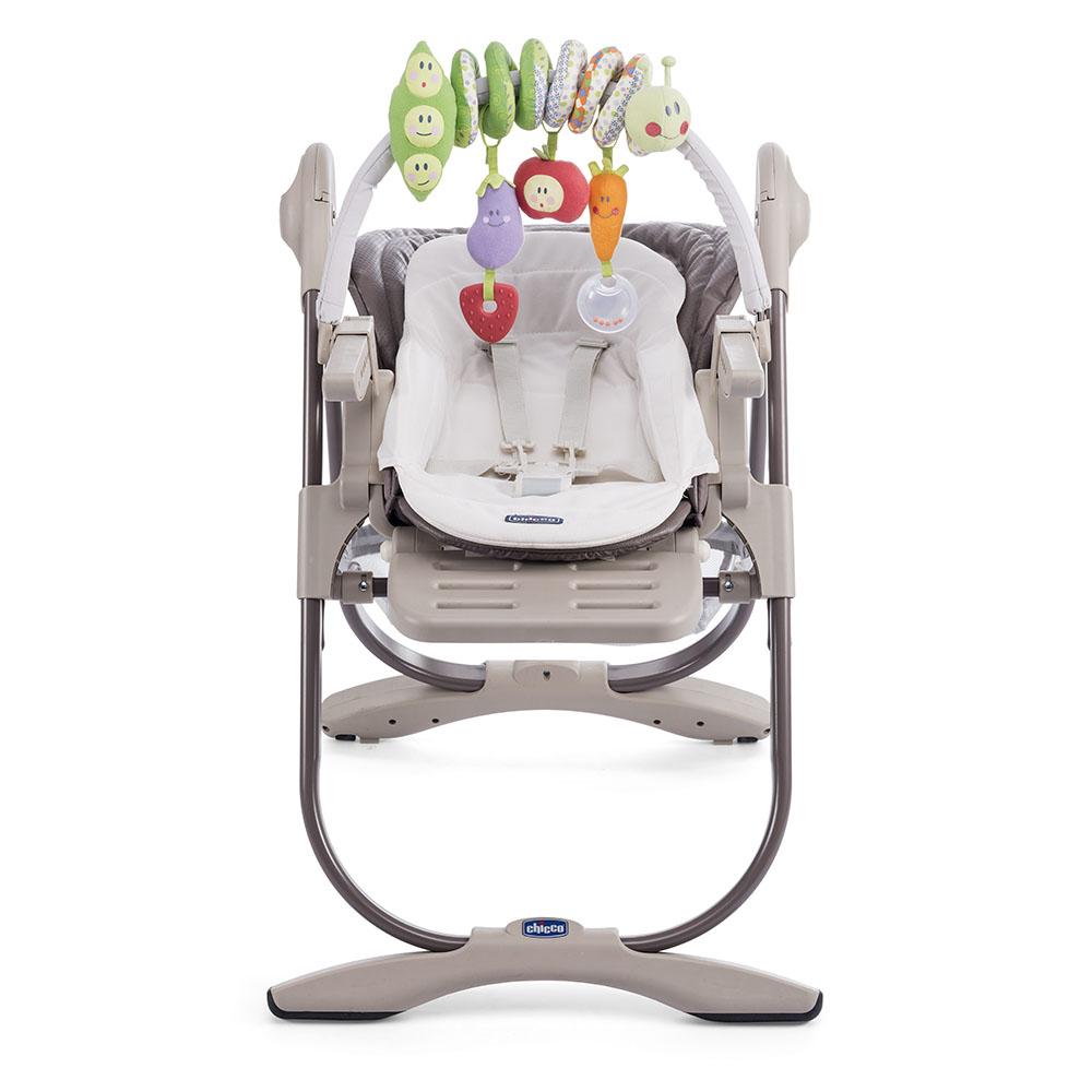 chaise haute volutive polly magic de chicco adbb autour de b b. Black Bedroom Furniture Sets. Home Design Ideas