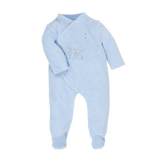 pyjama poudre d'etoiles bleu 0m