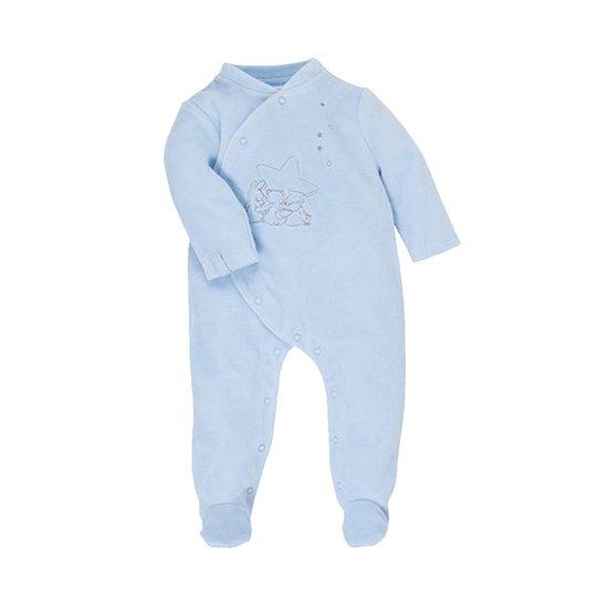 pyjama poudre d'etoiles bleu 1m