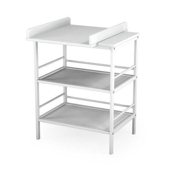Table à langer 2 étagères - plan amovible