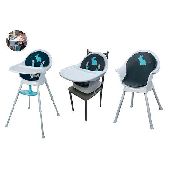 Chaise haute réhausseur 3 en 1