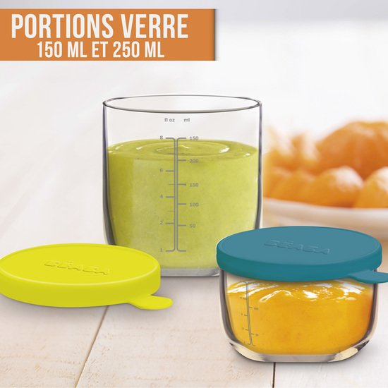 COFFRET 2 PORTIONS VERRE 150 ML/250 ML