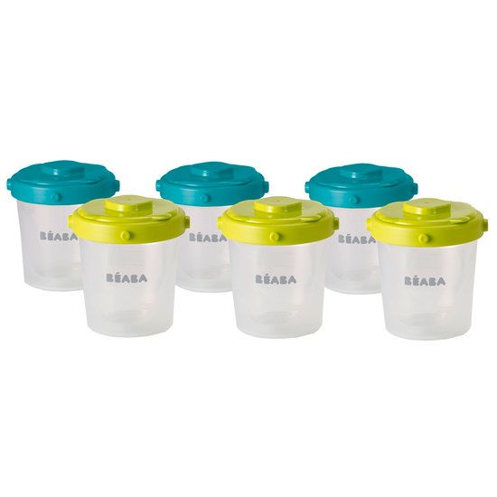 Lot de 6 portions clip 2ème âge 200ml