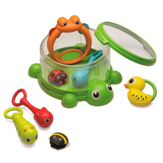 Jeu orchestre musical tortue 8 instruments