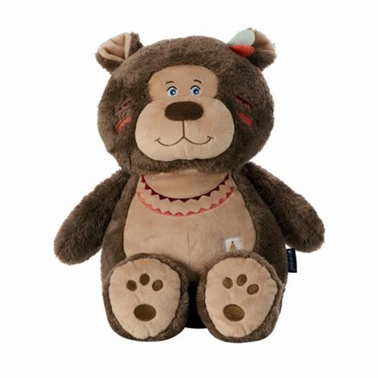 Peluche ours 50 cm Plume & totem