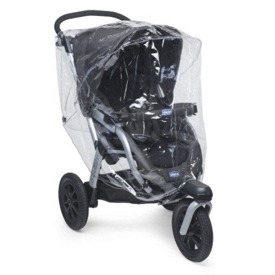 Habillage-pluie universel pour poussette 3 roues
