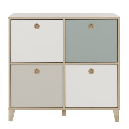 Commode 4 niches Lora