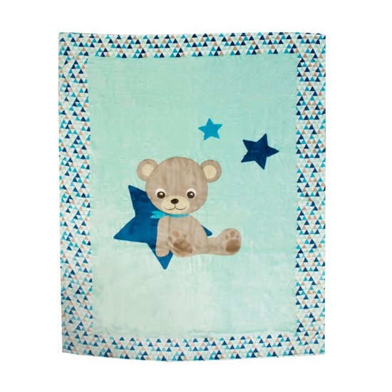 Plaid microfibre Baby Star