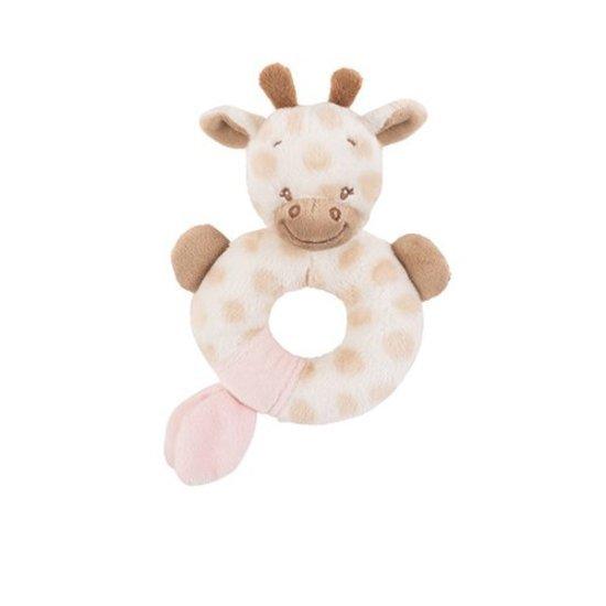 Hochet la girafe charlotte et rose