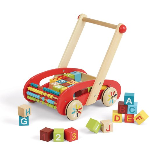 Chariot abc buggy tatoo - 30 cubes