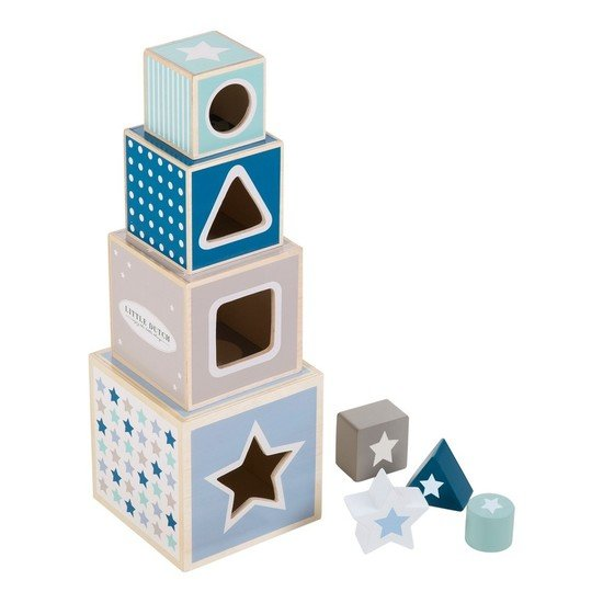 Blocs à empiler mixed stars mint