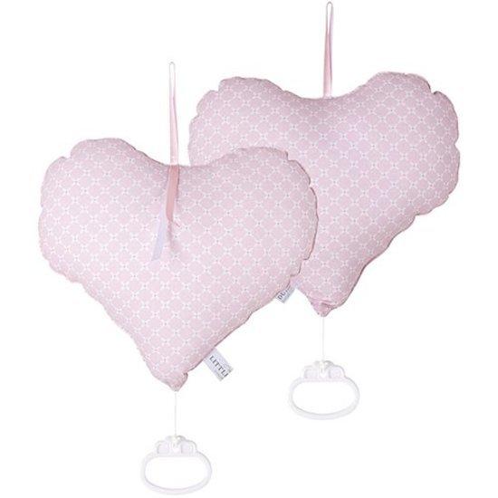 boîte à musique cœur sweet pink