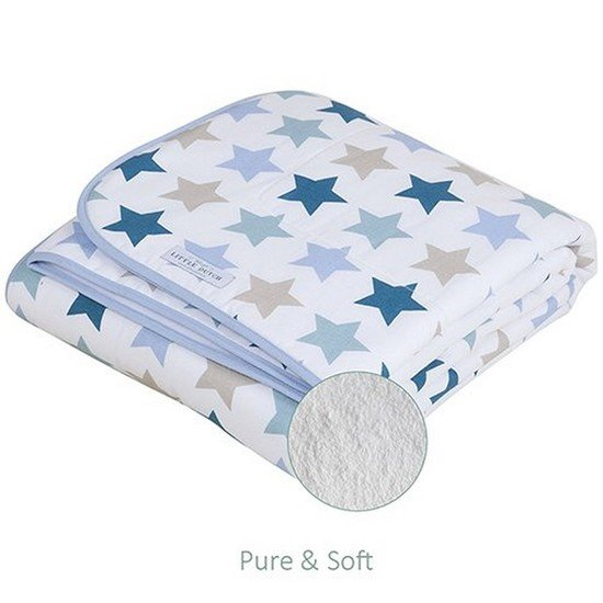 couverture de lit p&s mixed stars mint