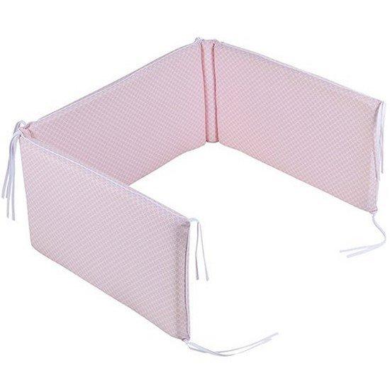 tour de lit sweet pink