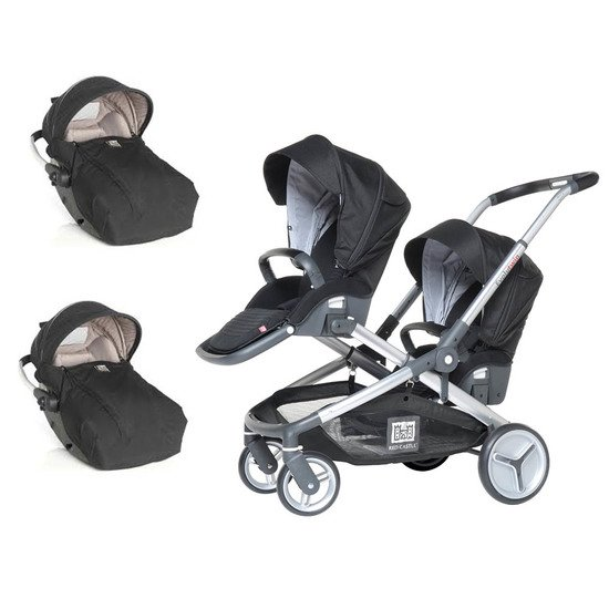 Poussette duo multiplace Evolutwin