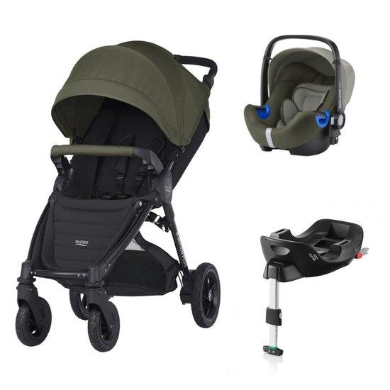 Pack poussette B Motion 4 plus + Coque Baby-safe i Size + base flex