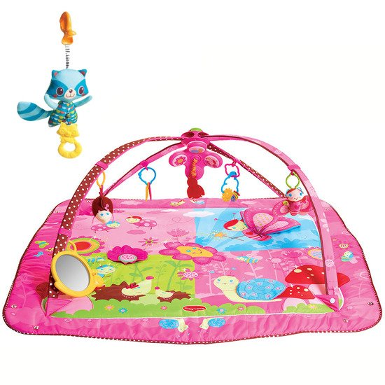 Tapis Gymini Move & Play Princesse + Tiny Smart Raton Laveur offert