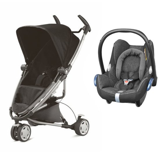 Pack poussette duo Zapp Xtra + cosi Cabriofix