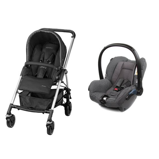 Pack poussette duo Streety 3 + cosi Citi