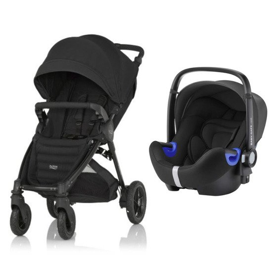 Pack poussette duo B-Motion 4 Plus + coque Baby-safe i-Size