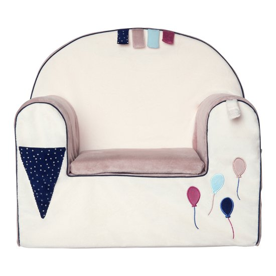 Fauteuil déhoussable + coussin Balloons Company