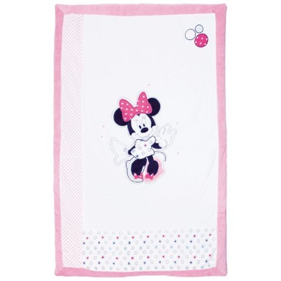 Plaid Minnie patchwork velours