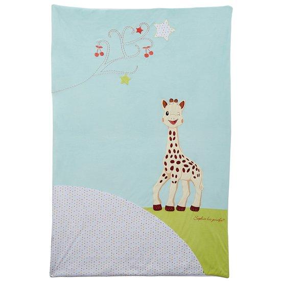 Plaid 2 en 1 Sophie la girafe