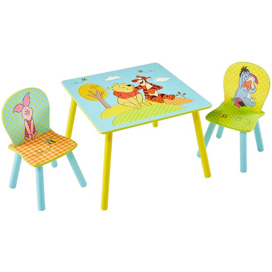 ENSEMBLE TABLE ET 2 CHAISES
