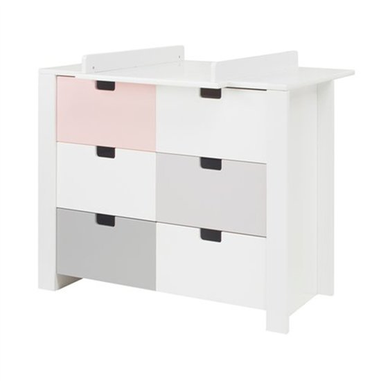 Commode 3 tiroirs City (PAL en option)