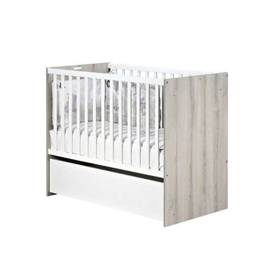 Lit de bébé 120x60 transformable Nael