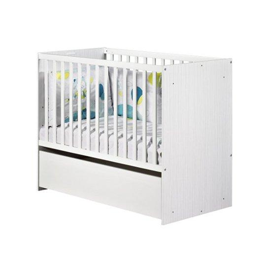 Lit de bébé 60 x 120 cm évolutif en lit junior Nino