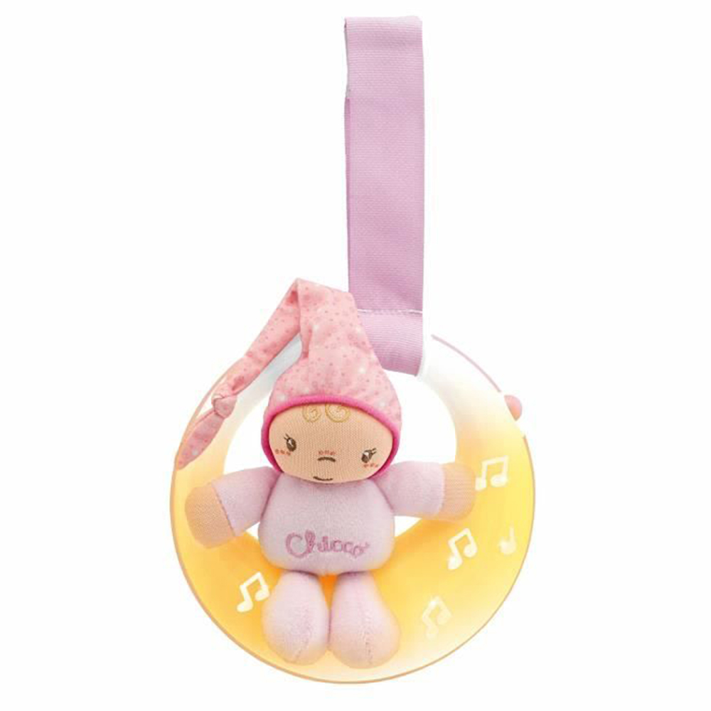 Chicco Veilleuse musicale Petite lune ROSE FIRST DREAMS
