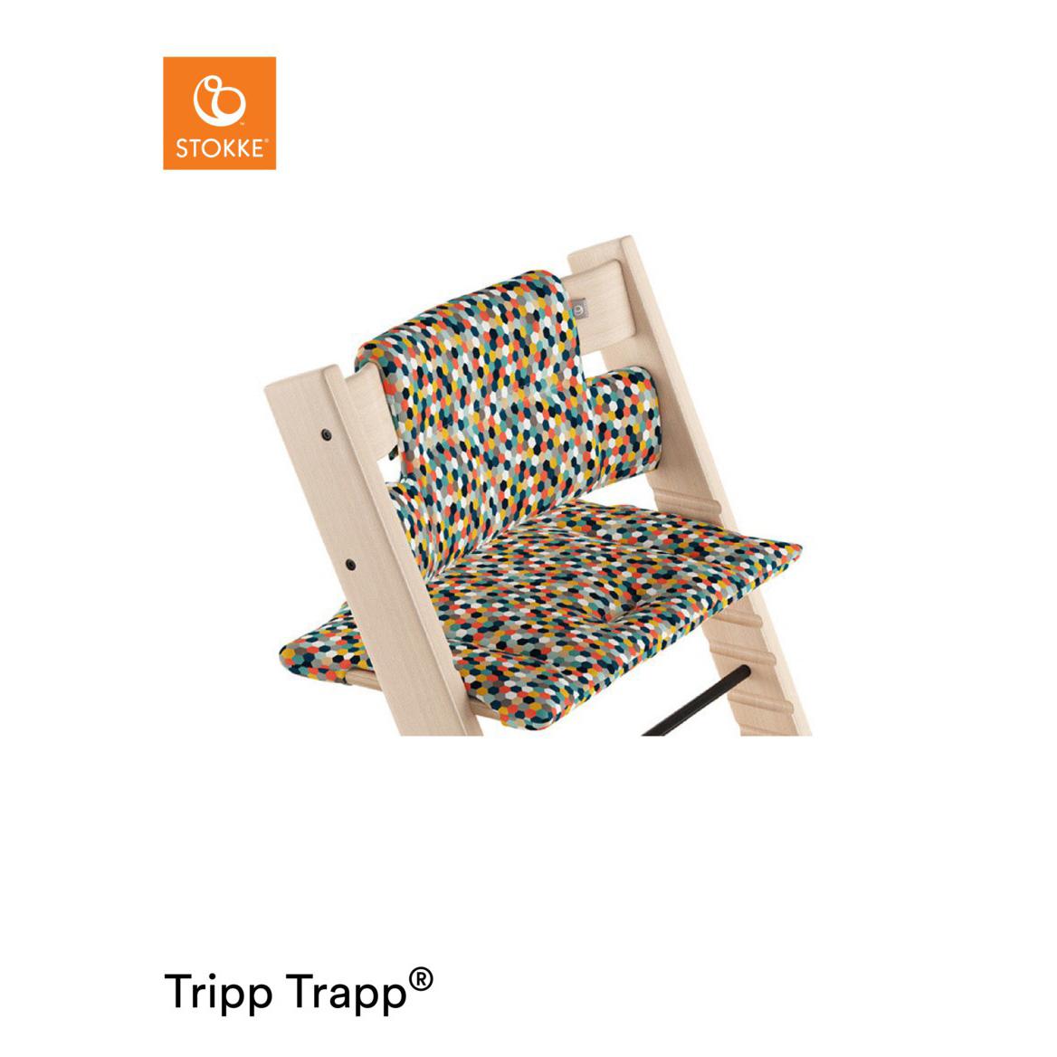 Coussin Classic Tripp Trapp MULTICOLORE Stokke