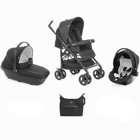 Pack trio poussette Sprint Black