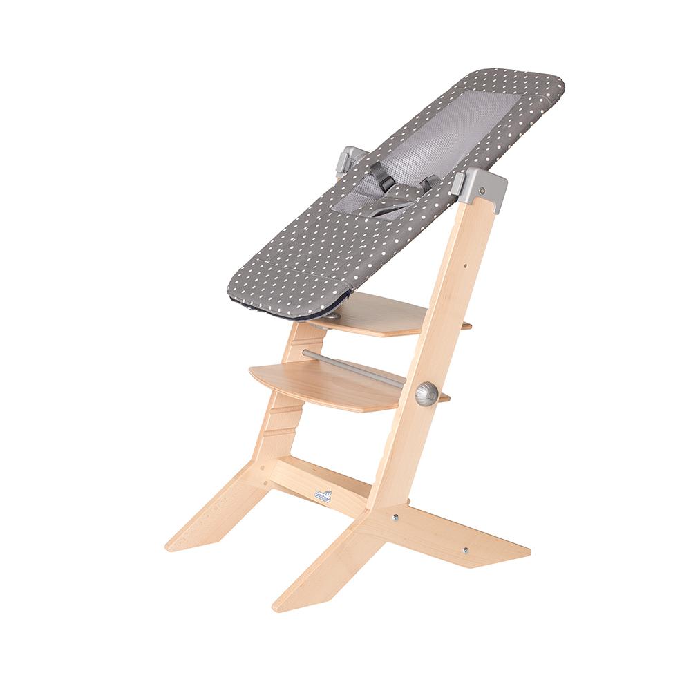 Transat Sit'n Sleep adaptable chaise évolutive SYT GRIS Geuther