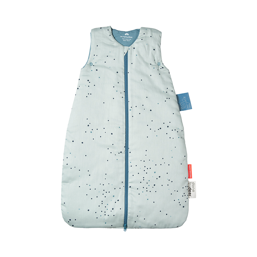 Gigoteuse TOG 2.5 Dreamy dots BLEU Done by Deer
