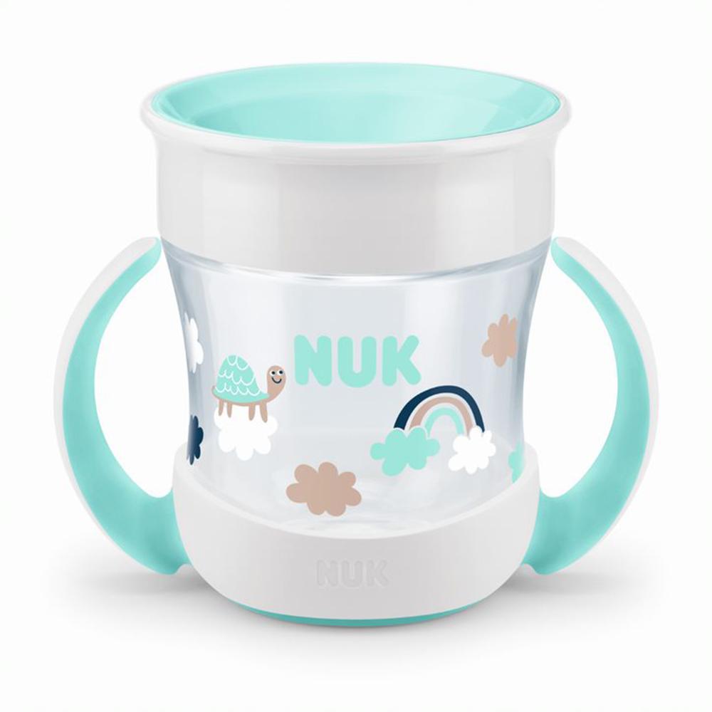 Mini Magic Cup - 360 poignées VERT Nuk
