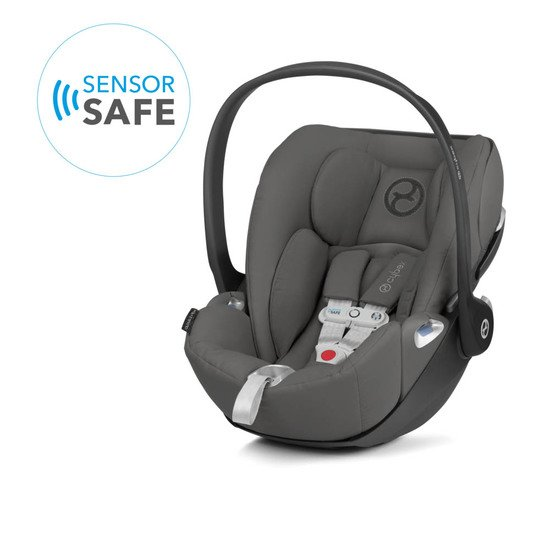 Cybex Coque Cloud Z i-Size SensoreSafe Manhattan Grey