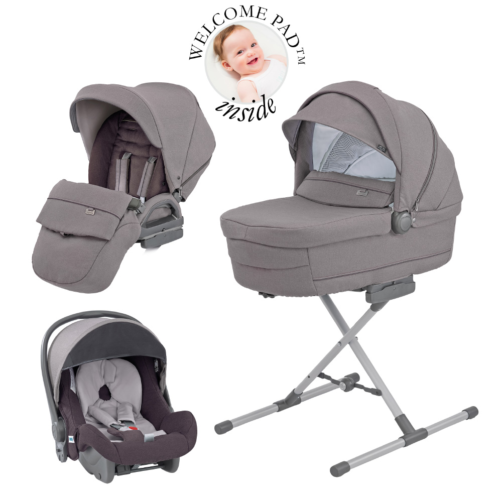 Inglesina Pack Trilogy System Quattro Sideral Grey