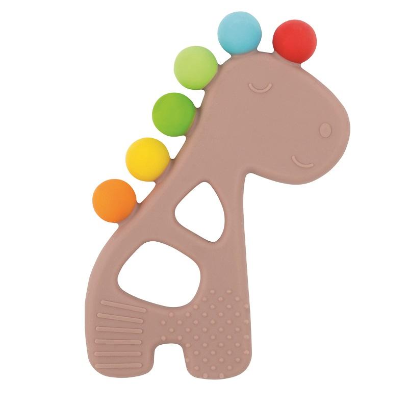 Anneau dentition Girafe MARRON Nattou
