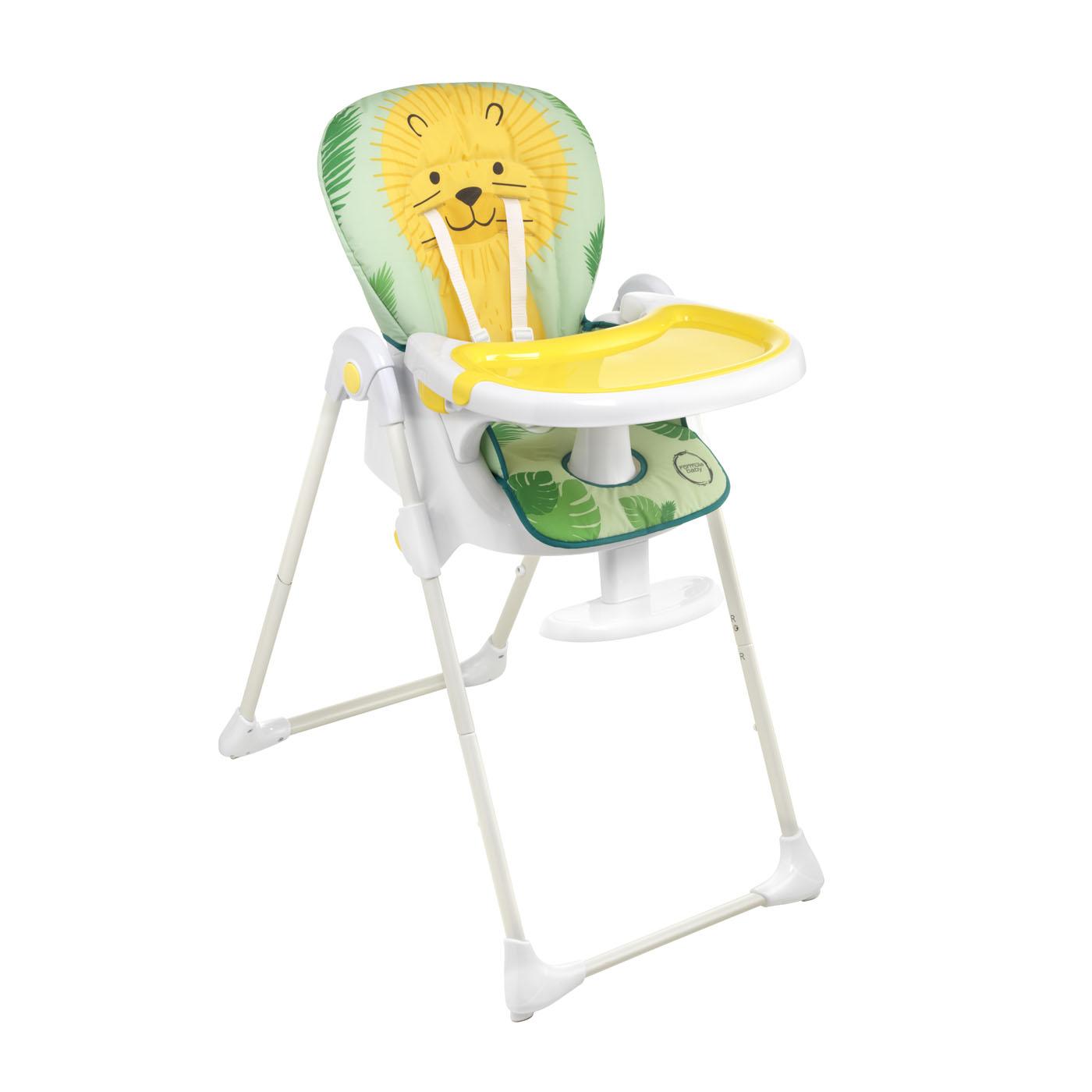 Chaise haute multipo MULTICOLORE Formula Baby