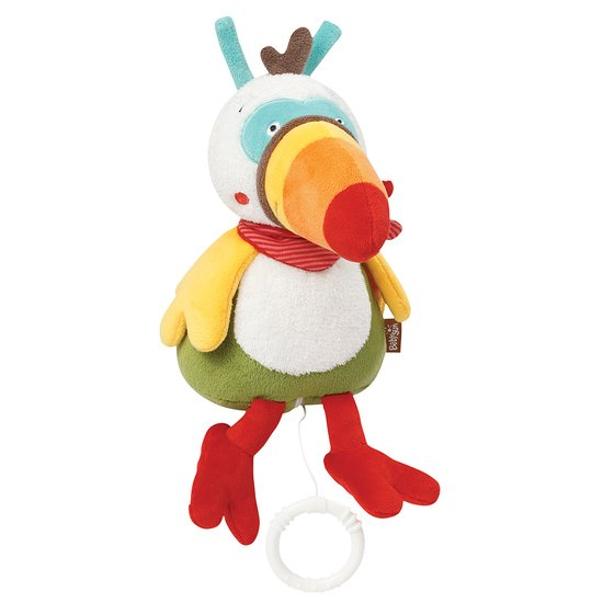 Babysun Peluche musicale Toucan Jungle Heroes
