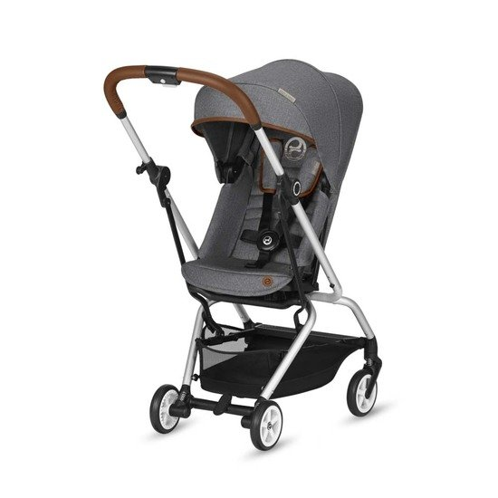 Cybex Poussette Compacte 4 roues EEZY S TWIST Denim Manhattan Grey